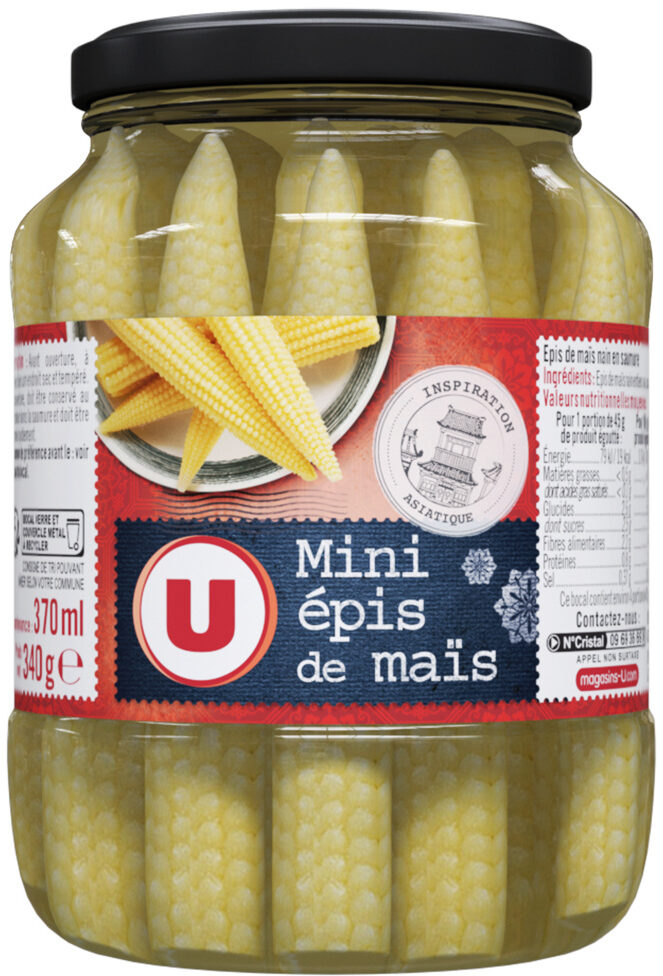 Mini Épis de Maïs - Product - fr