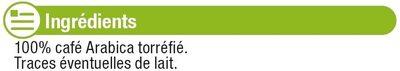 Café torrifié et moulu pur arabica - Ingredients - fr