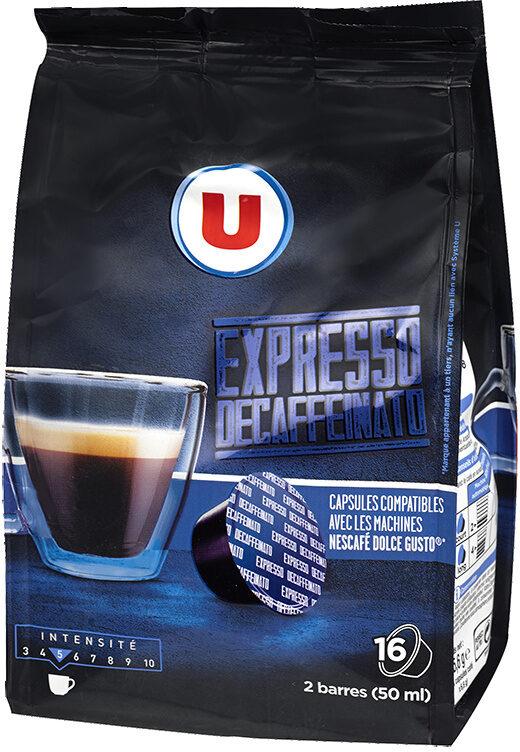 Café torréfié et moulu expresso décaffeinato - Product - fr