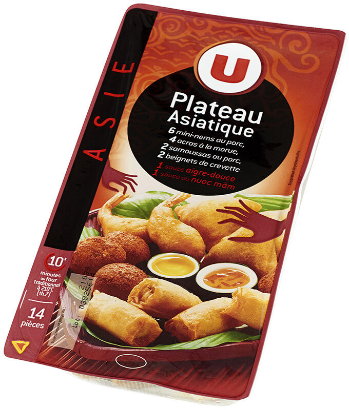 Plateau Asiatique 14 Pièces + Sauces - Produit - fr