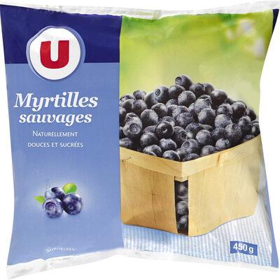 Myrtilles sauvages naturellement douces & sucrées - Product - fr