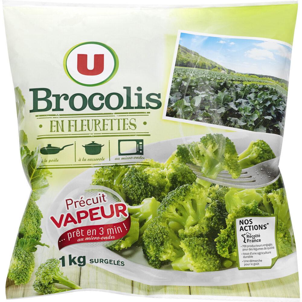 Brocolis fleurettes précuits vapeur - Product - fr
