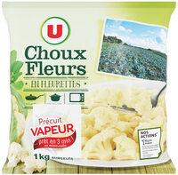 Choux-fleurs fleurettes précuits vapeur - Product - fr