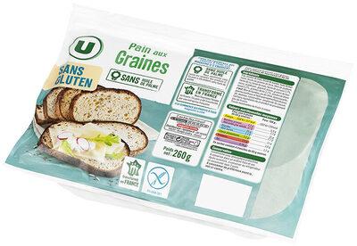 Pains aux graines sans gluten - Produit - fr