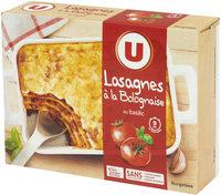 Lasagne à la bolognaise - Product