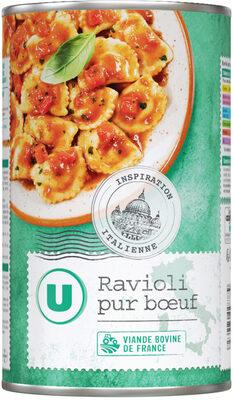 Ravioli pur boeuf 7,5% - Produit - fr