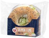 Bagel au saumon - Produit - fr