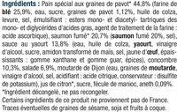 Bagel au saumon - Ingrédients - fr