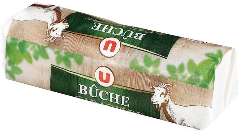 Fromage de chèvre pasteurisé bûche de caractère 25% MG - Produit - fr