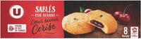 Sablés pur beurre coeur de cerise - Product - fr