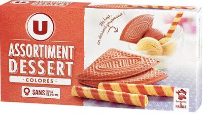 Assortiment dessert colore - Produit - fr