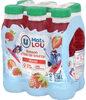 Boisson à base d'eau de source arômatisée et jus de fraise - Product