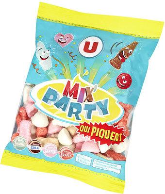Bonbons gélifiés mix party acides - Product