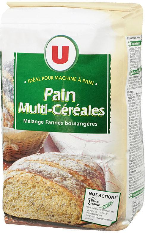 4699f972788 Mélange de farines boulangères pour pain multicéréales - U - 1kg