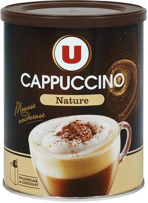 Cappuccino nature avec poudreuse - Product