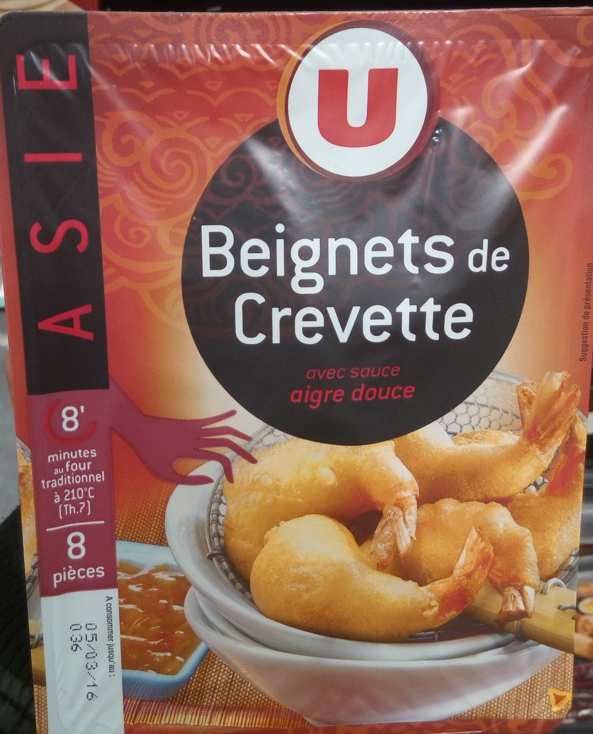 beignets de crevette u 160 g