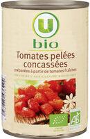 Tomates pelées concassées au jus - Produit - fr