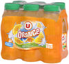 Boisson aux fruits plate orange - Product