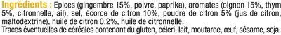 Mix barbecue à l'exotique - Ingrediënten - fr