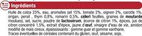 Mix marinade à la provençale - Ingrediënten - fr