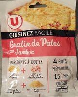 Gratin de pâtes au jambon cuisinez facile - Produit - fr