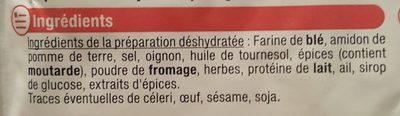 Gratin de pâtes au jambon cuisinez facile - Ingrédients - fr