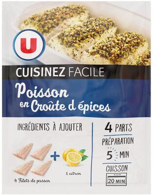 Poisson croûte d'épices cuisinez facile - Product - fr
