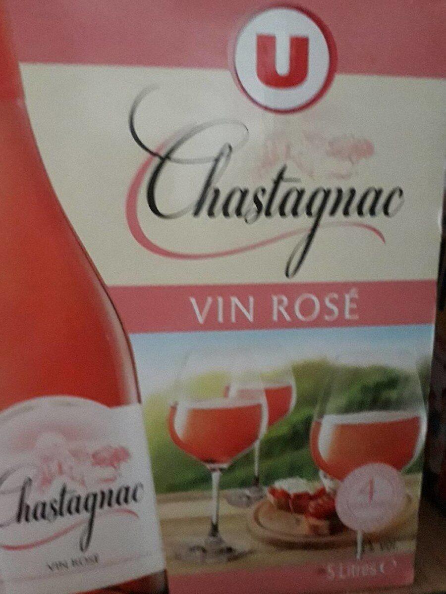 Vin d'Espagne rosé CHASTAGNAC - U - 5 ls