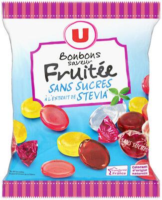 Bonbons fruits stévia sans sucre - Product