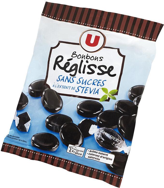 Bonbons à la réglisse sans sucre stevia - Produit