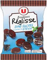 Bonbons à la réglisse sans sucre stevia - Produit - fr