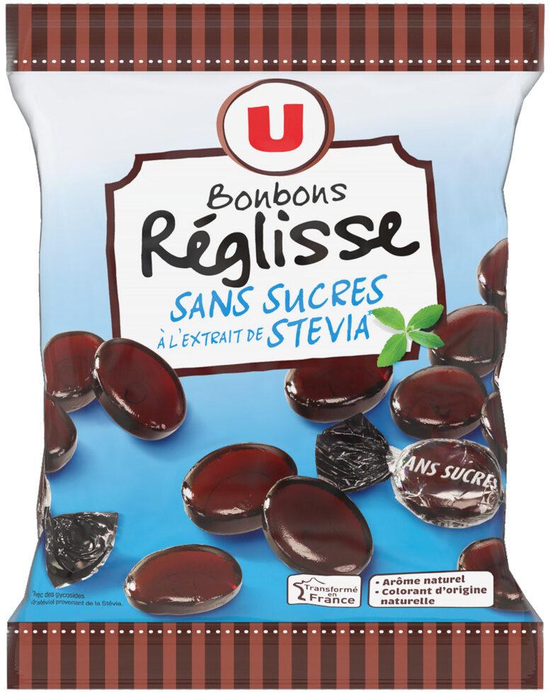 Bonbons à la réglisse sans sucre stevia - Product - fr