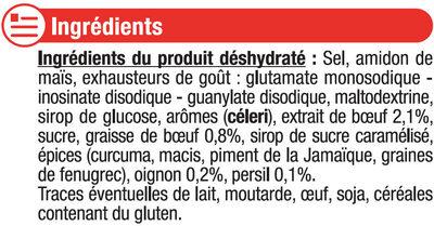 Bouillon de boeuf - Ingrediënten - fr
