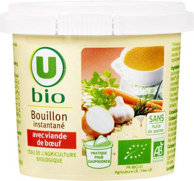 Bouillon instantané avec viande de boeuf - Produit - fr