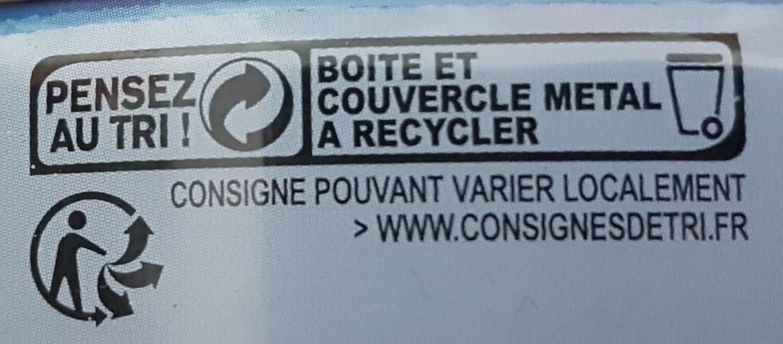 Thon entier listao pêché à la ligne - Recyclinginstructies en / of verpakkingsinformatie - fr