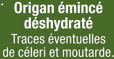 Origan - Ingrédients - fr