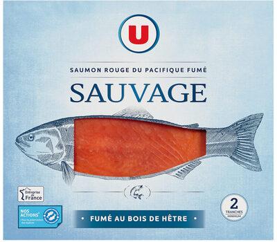 Saumon rouge sauvage fumé du Pacifique - Product