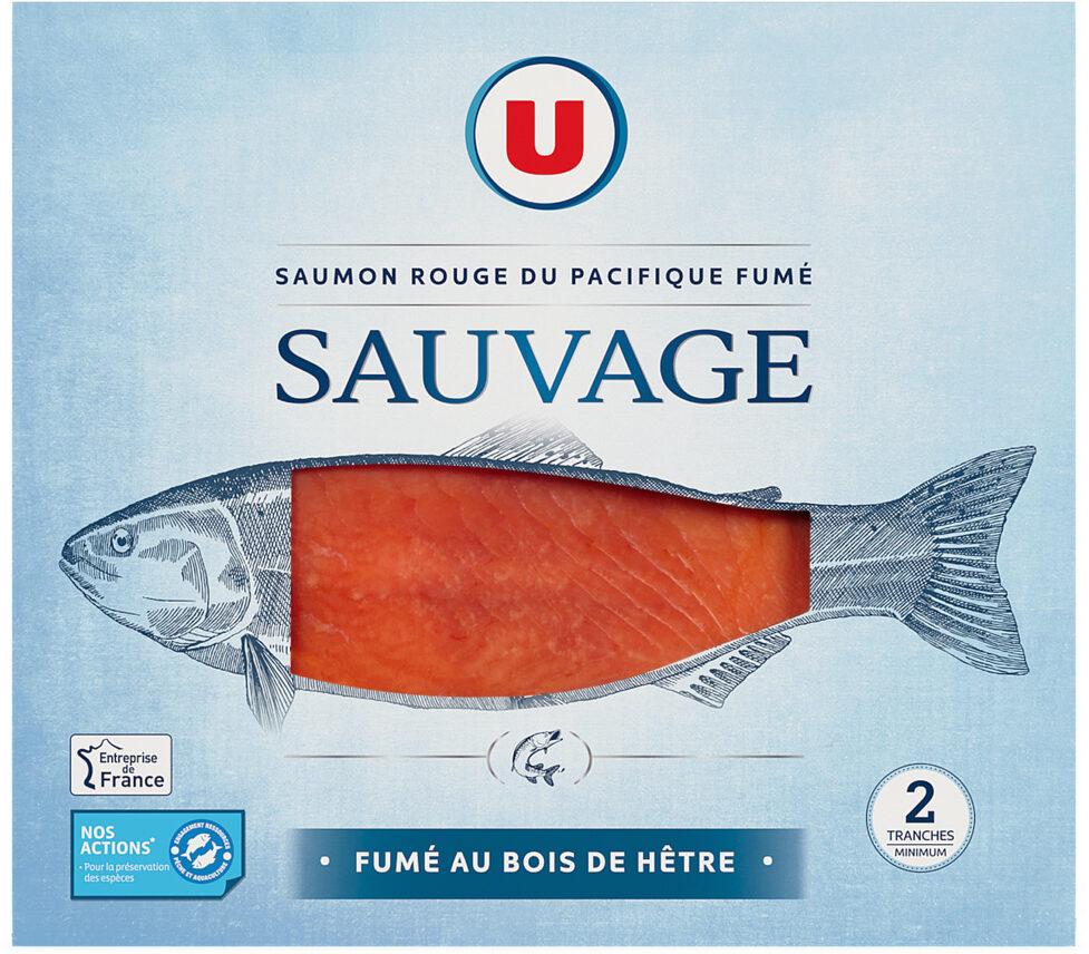 Saumon rouge sauvage fumé du Pacifique - Product - fr
