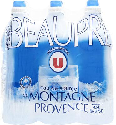Eau de source de montagne de Provence - Product - fr