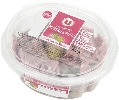 Museau de porc - Produit