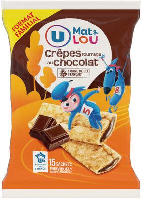 Crêpes fourrées chocolat - Produit - fr
