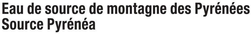 Eau de source de montagne des Pyrénées - Ingredients - fr