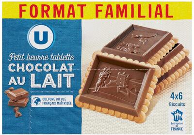 Petit Beurre Tablette Chocolat au Lait - Product - fr