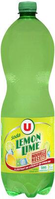 Soda saveur Lemon Lime - Produit - fr