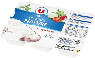 Fromage à tartiner nature  5% de MG - Product