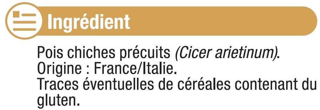 Pois chiches cuisson rapide 15 minutes - Ingrédients - fr