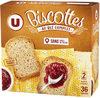 Biscottes au blé complet - Producto