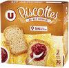 Biscottes au blé complet - Produit