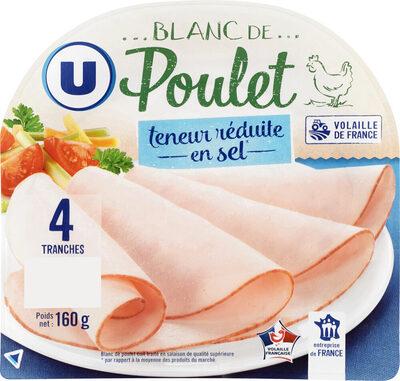 Blanc de poulet teneur sel réduit - Produit - fr