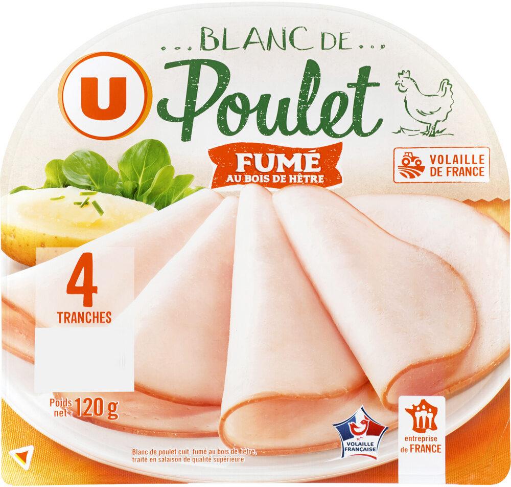 Blanc de poulet fumé au bois hêtre - Product - fr
